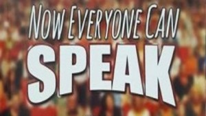 Now Everyone Can Speak