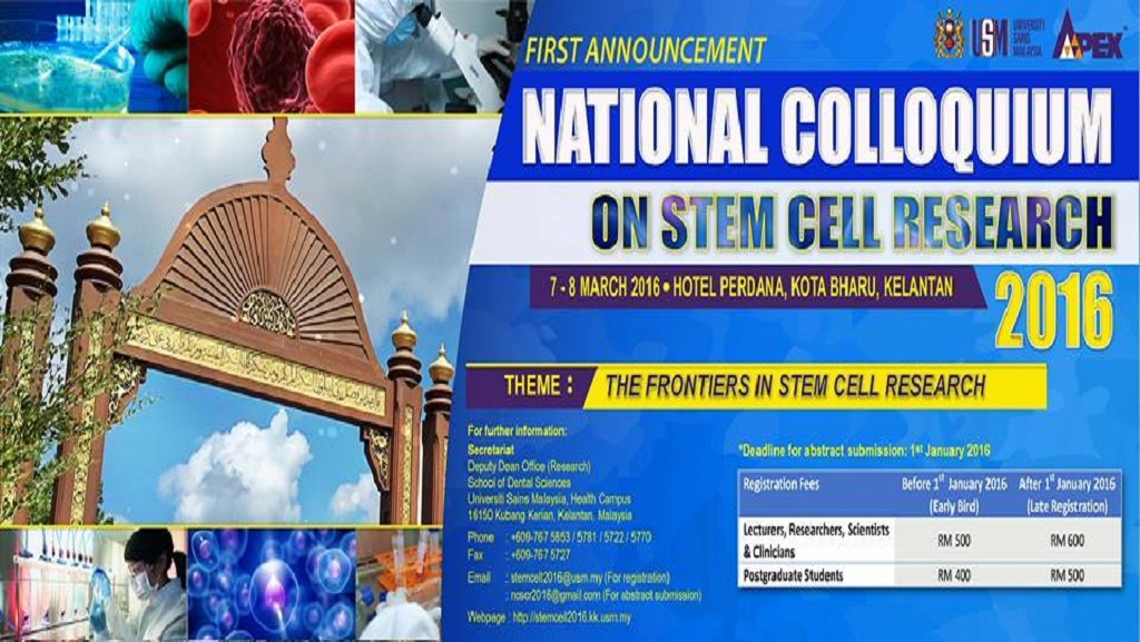 National Colloquium on Stem Cell Research (NCSCR)